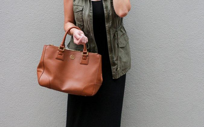 Slip Dress and a Cargo Vest