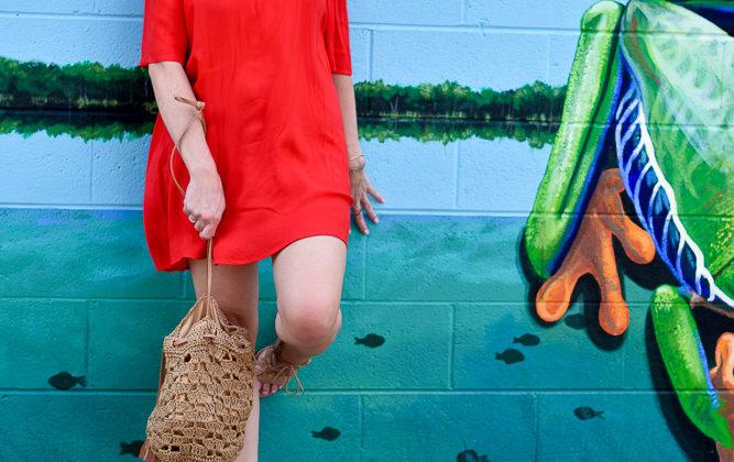Summer Favorite: Red Off the Shoulder Dress