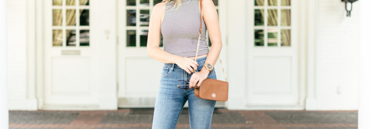 Loving High-Waisted Distressed Levi's