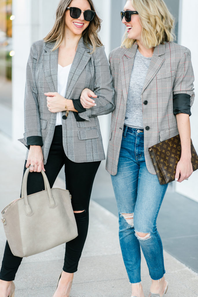 Plaid-Boyfriend-Blazer-Styled-Two-Ways 1